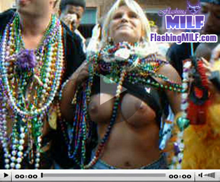 Flashing MILF Video